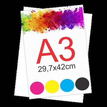 Impressão sulf. A3 (75G) -...
